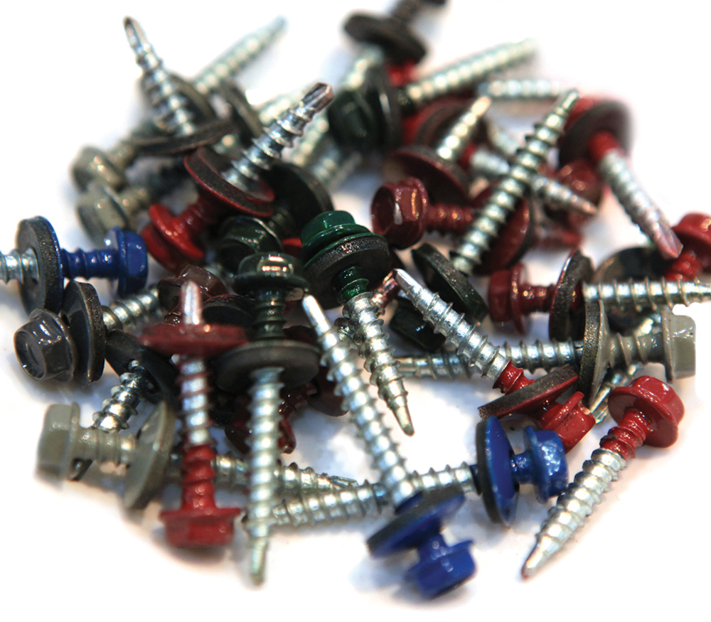 Painted Fasteners